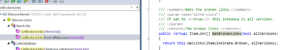 Code versions