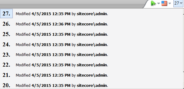 Archive/Restore Options for Sitecore